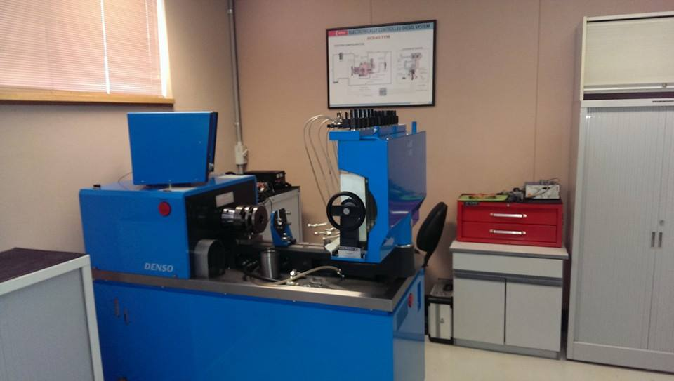 Diesel Fuel Pump Test Bench - Denso