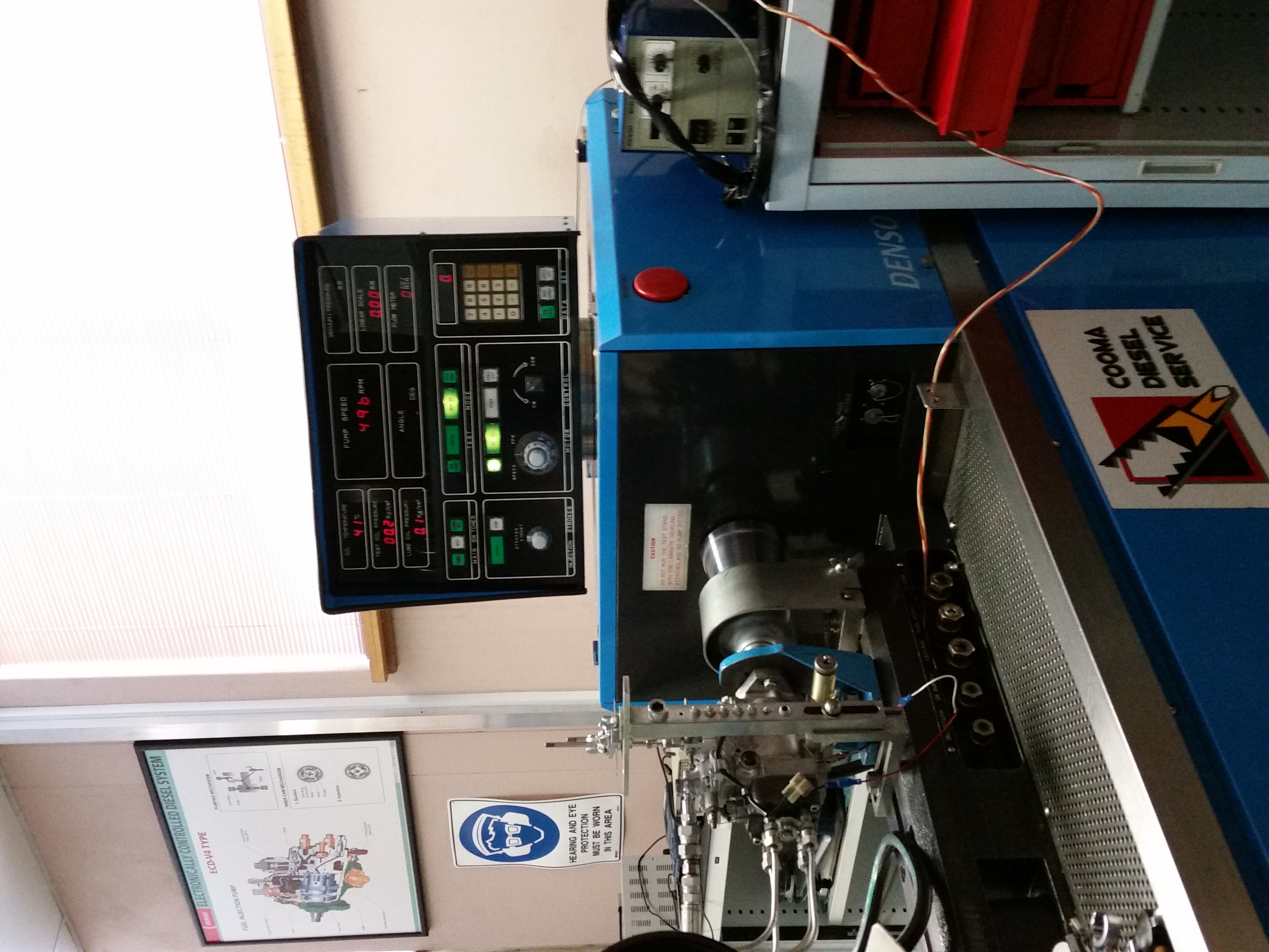 Denso Test Bench