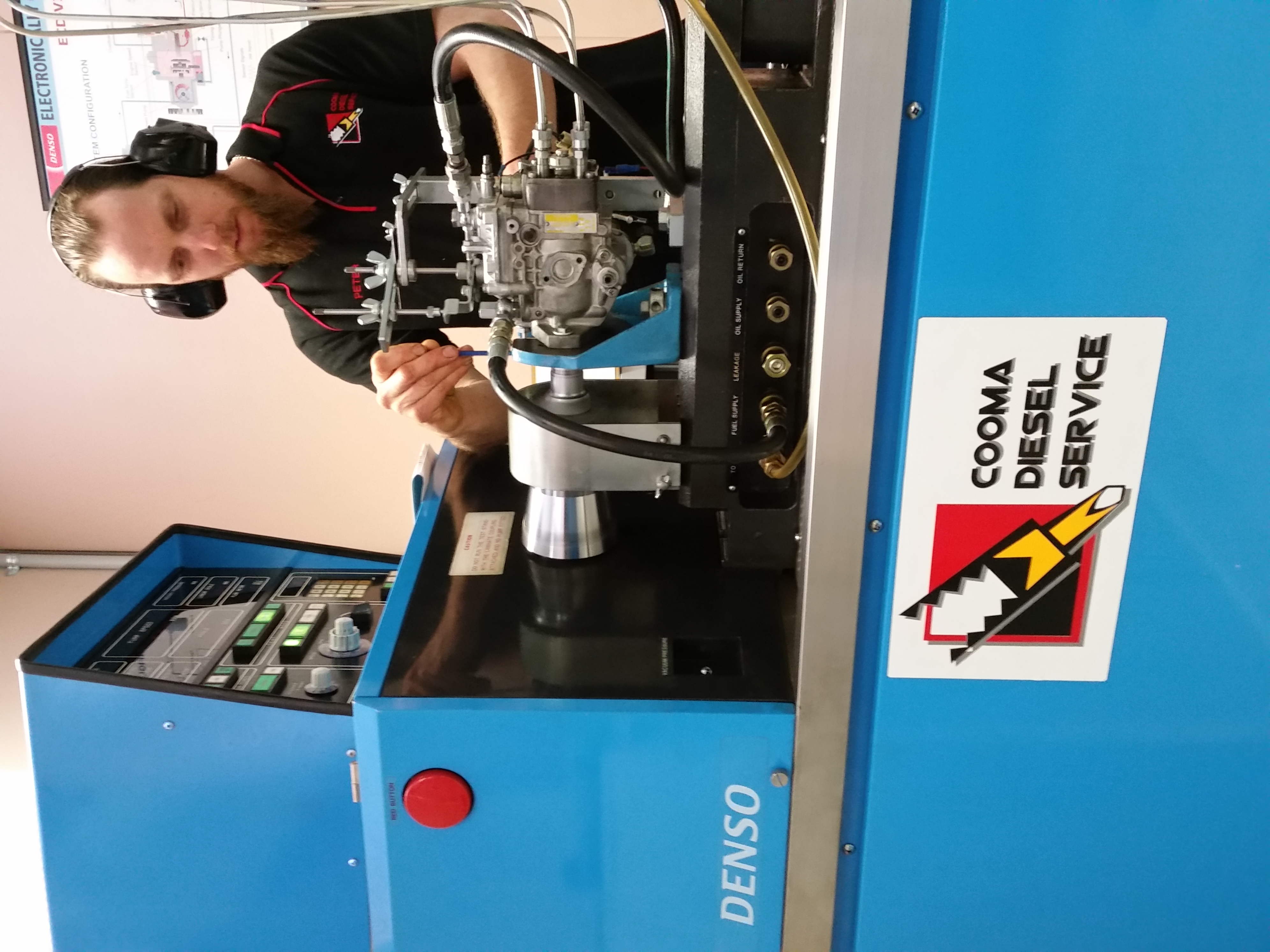 Testing a Denso Fuel Pump