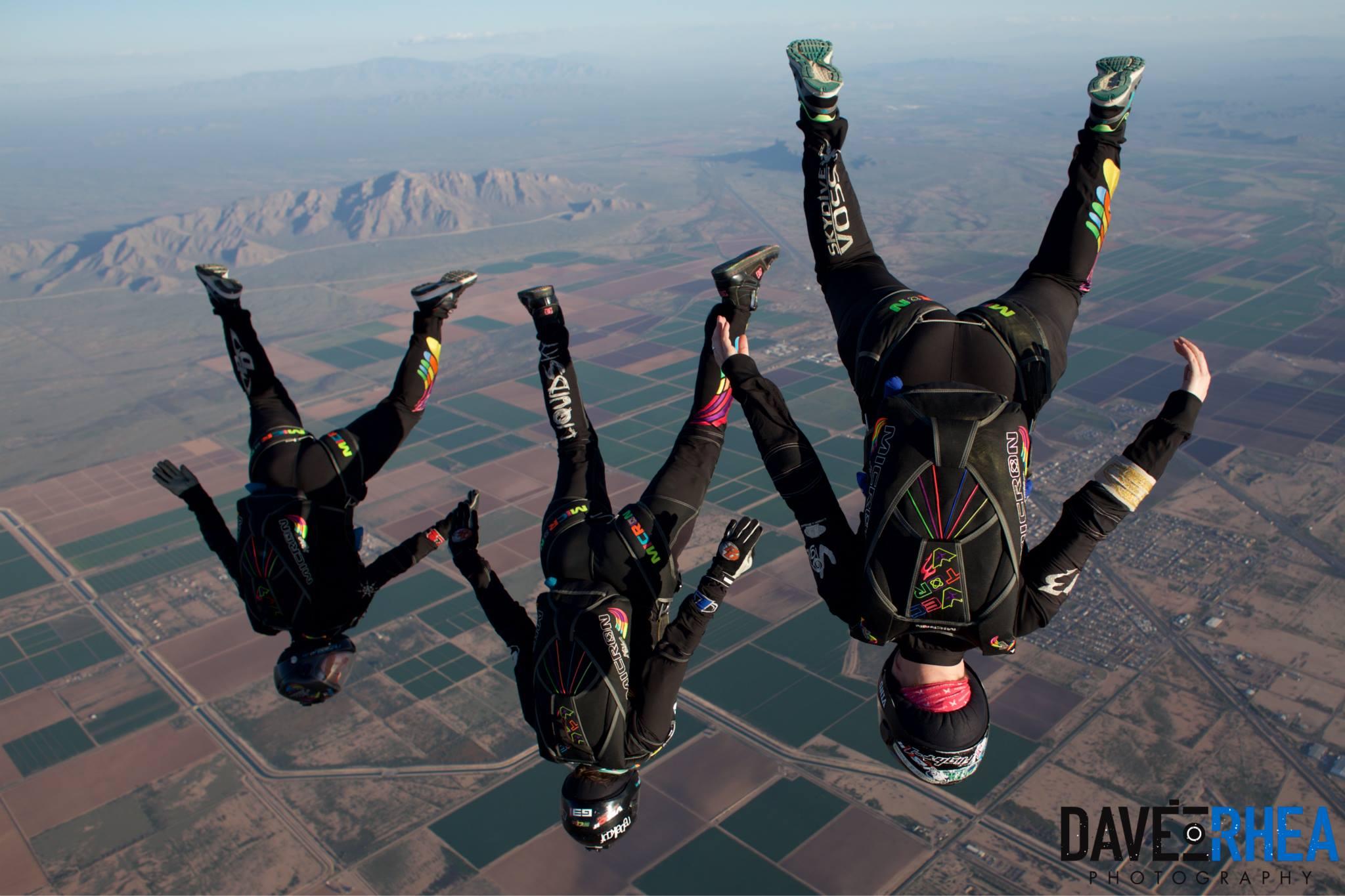 Joyriding over Skydive AZ