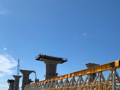 Harbor Bridge Structural Platform in Corpus Christi