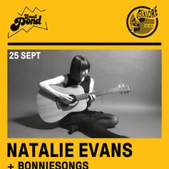 POSTER - Natalie Evans Live at Marwoods