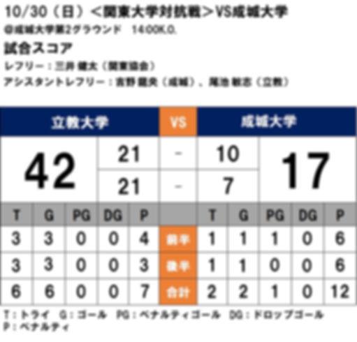 20161030 関東大学対抗戦 vs成城.JPG