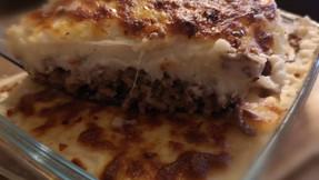 Keto meat pie (faux Shepherd's/ Cottage pie)