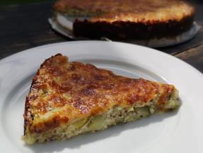 Easy cheesy zucchini pie