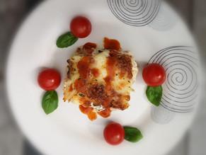 Cauliflower cheese with smoked salmon