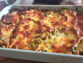 Broccoli, cheese & chicken casserole