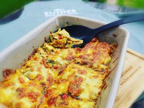 Keto Curried tuna and veggies bake