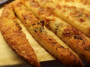 """Cheese and garlic """"bread"""""""