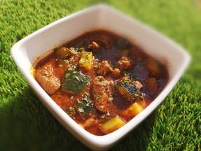 Aromatic beef & zucchini stew