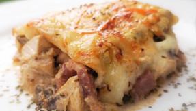 Chicken and aubergine bake