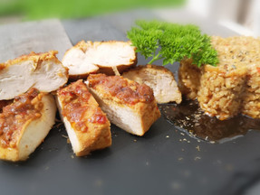 Tangy & spicy chicken breast