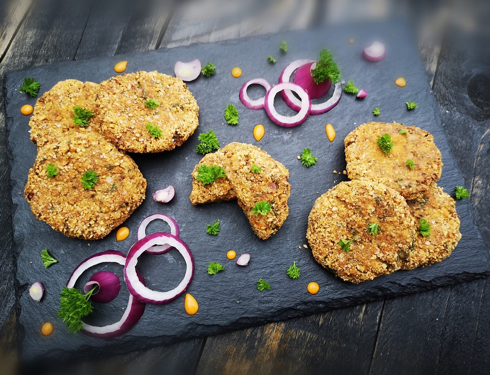 Keto fish cakes with canned sardines