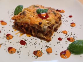 Keto cabbage lasagna