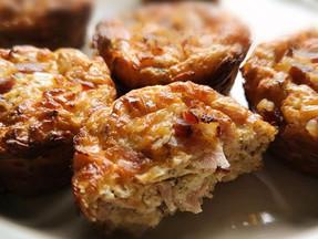 Savory Ham&eggs muffins