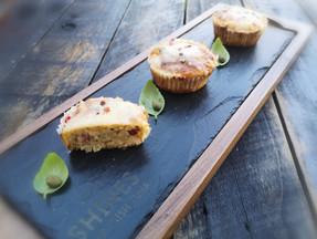 Tuna & smoked pancetta muffins