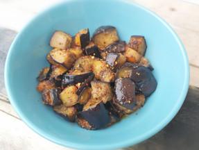 Keto spicy eggplant