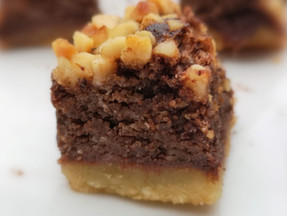 Keto chocolate & nuts cake