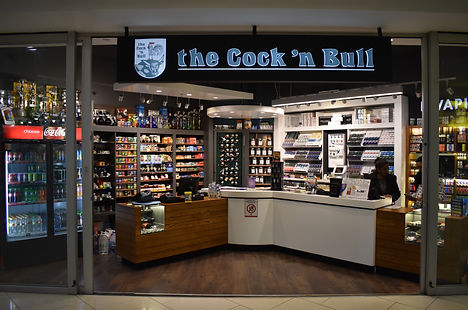 Kenilworth Centre, Cock 'n Bull, store, shop