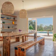 Indoor Dinner Table