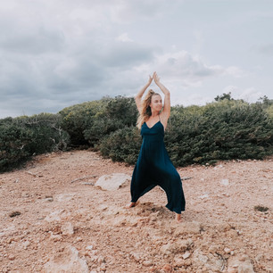 Yoga class Ibiza