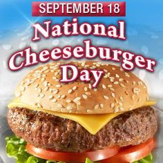 Walk the Talk...Day 3 Challenge - National Cheeseburger Day!