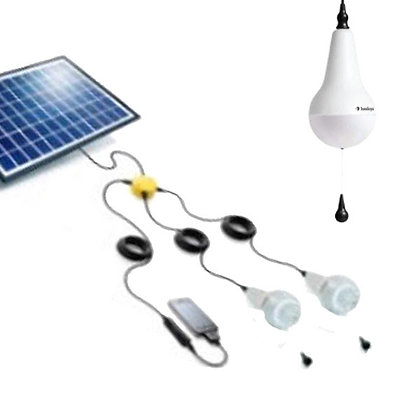 Ulitium - 2 Light Kit with Solar Panel