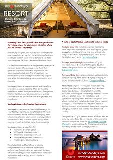 My Sundaya - Sundaya Resort Brochure