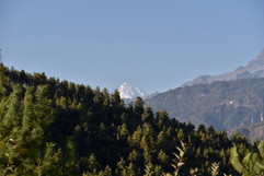 Mountain from Hotel