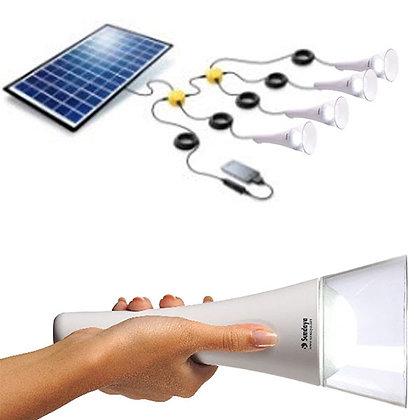 T-Lite - 4 Light Kit with Solar Panel