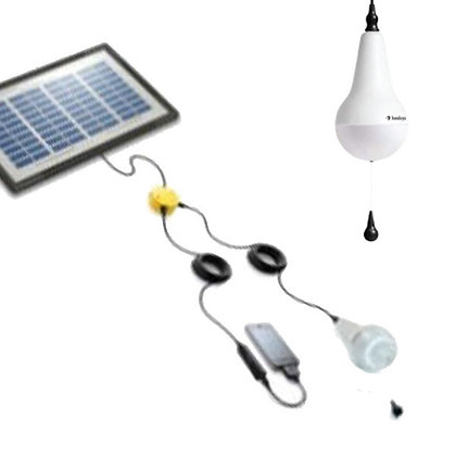 Ulitium - Single Light Kit with Solar Panel