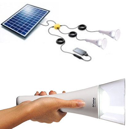 T-Lite - 2 Light Kit with Solar Panel