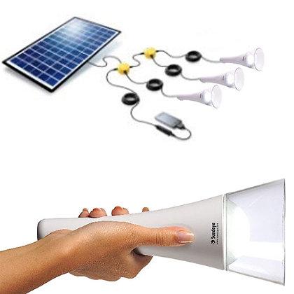 T-Lite - 3 Light Kit with Solar Panel