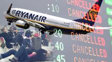 Streik, Verspätungen und Annullierung bei Ryanair und Laudamotion