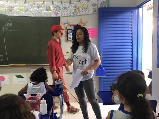 A Camila Mendonça tem desenvolvido um trabalho na prevenção ao abuso e exploração sexual infantil