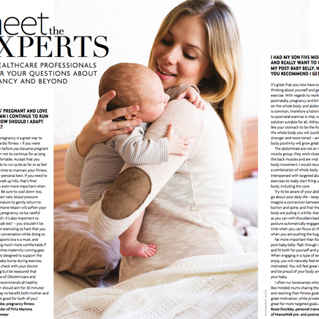 MAMAWELL in Baby London Magazine.