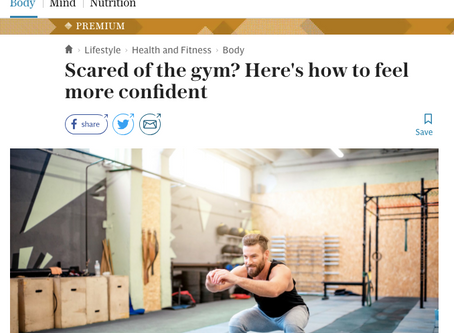 Scared of the gym? Here's how to feel more confident.