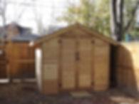 Robertson Contracting Calgary - Cedar Shed