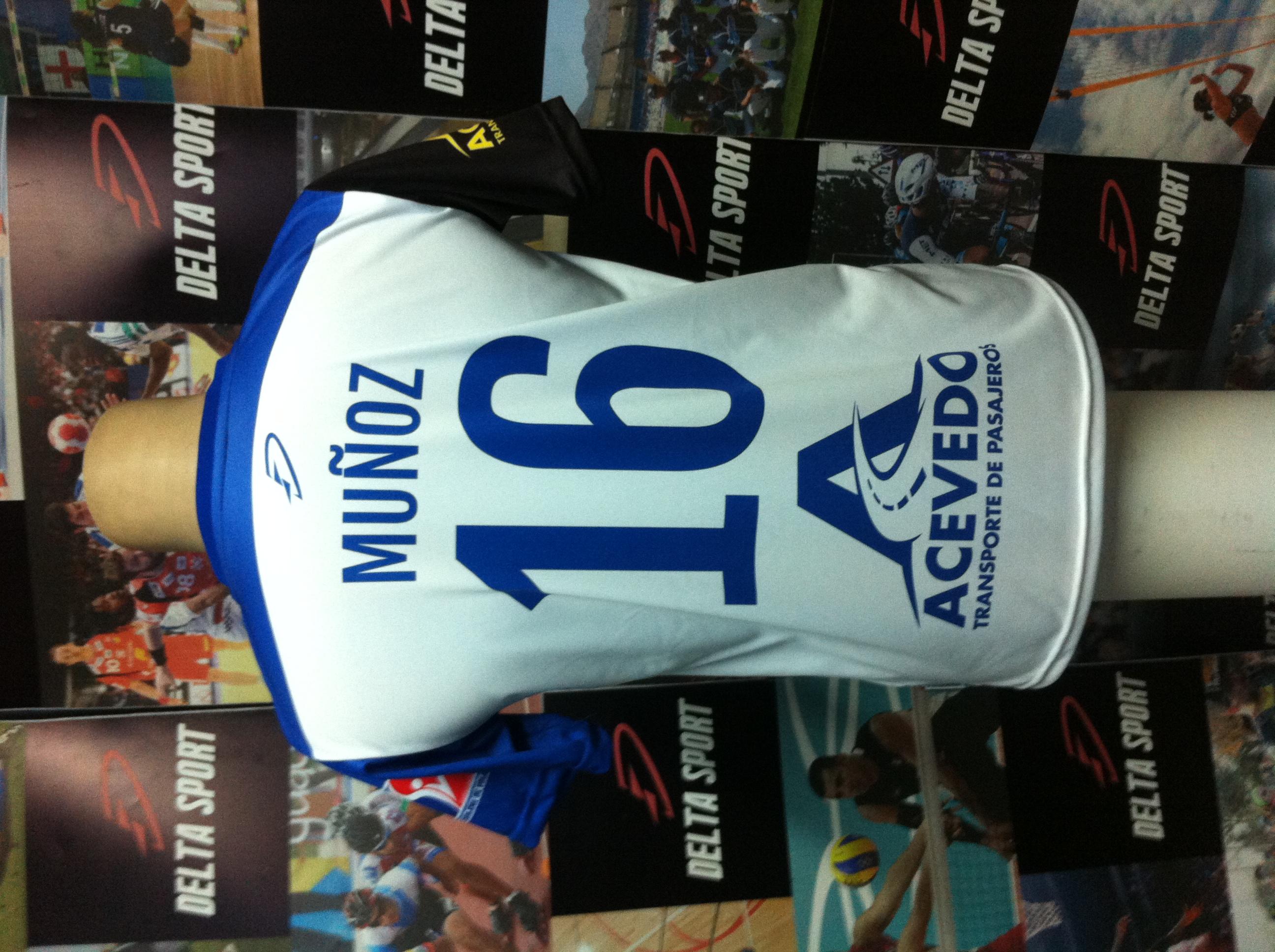 Camiseta deportiva voleibol corte unisex personalizada tela drifit  sublimada 100% cuello bi color 36ff07d470ed9