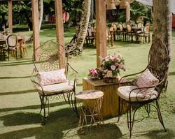 lounge casamento praia