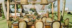 lounge e mesas casamento