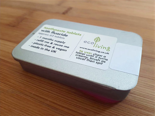 Eco Living Toothpaste Tablets x 62