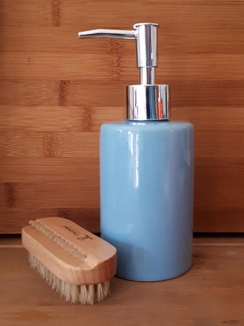 Ceramic Blue Hand Soap Dispenser