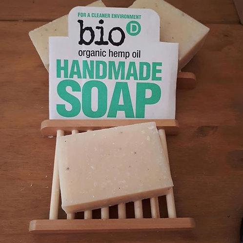 Bio D Hemp Oil soap bar