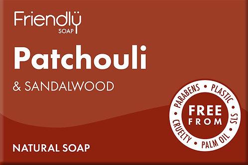 Patchouli & Sandalwood soap bar