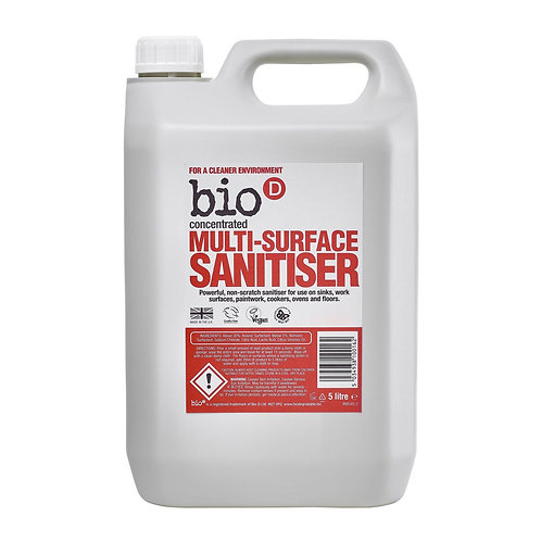 Bio D Multi-Surface Sanitiser - 500ml REFILL