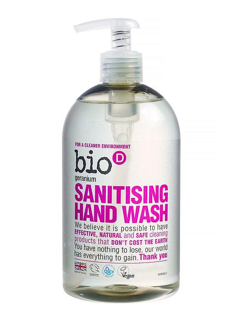 Bio D Geranium Sanitising Handwash 250ml REFILL