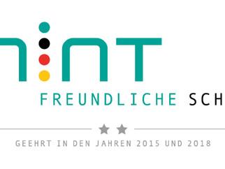 """Auszeichnung """"MINT-freundliche Schule"""""""