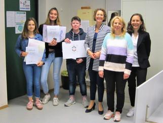 Unsere Schüler erfolgreich beim VBR-Malwettbewerb