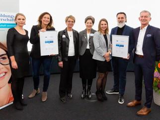 Auszeichnung IHK-Top-Bildungspartner
